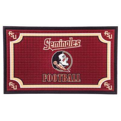 University of Florida 18 in. x 30 in. Embossed Welcome Mat