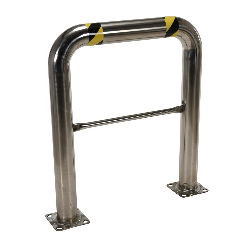 36 in. x 42 in. x 4 in. Stainless Steel High