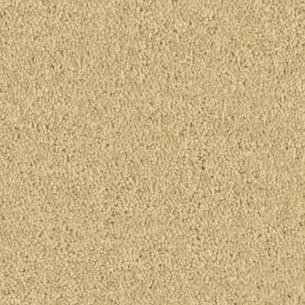 Carpet Sample - Team Builder - In Color Pale Gold 8 in. x 8 in.