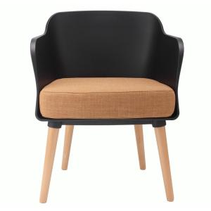 Admirable Cozyblock Cali Series Black Modern Accent Living Room Arm Alphanode Cool Chair Designs And Ideas Alphanodeonline