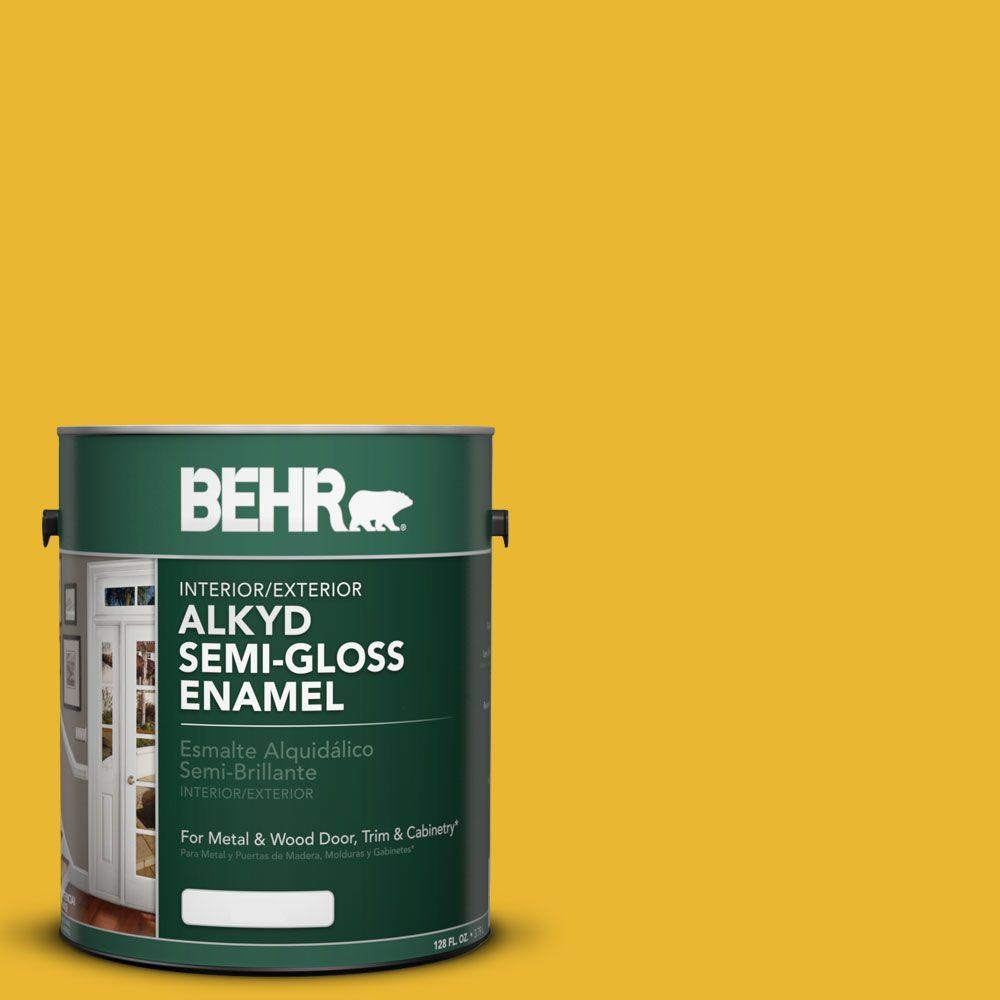 Safety Yellow - Paint Colors - Paint - The Home Depot