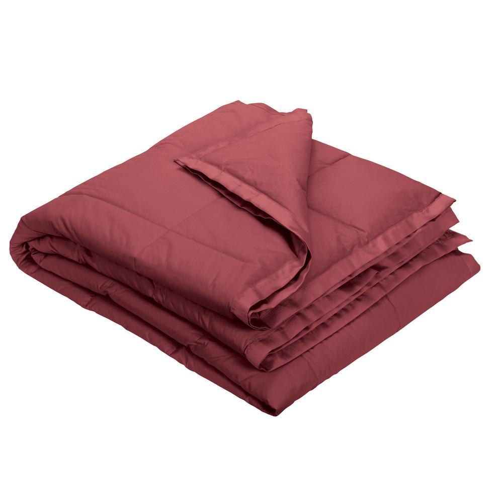 LaCrosse Down Chianti Cotton Throw Blanket