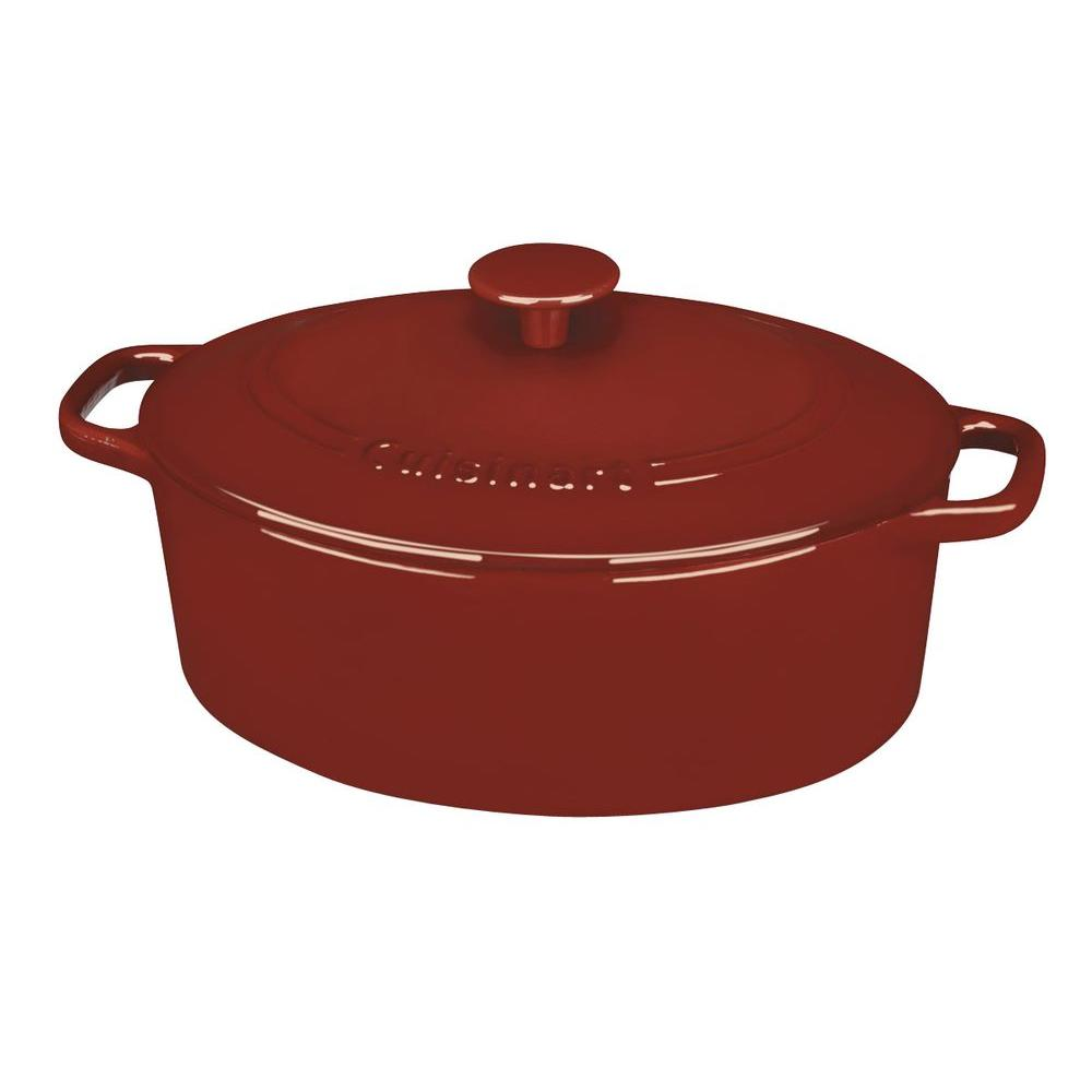 Chef's Classic 5.5 Qt. Cast Iron Dutch Oven with Lid