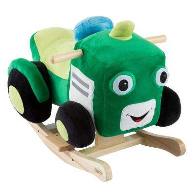 Kids Plush Rocking Tractor