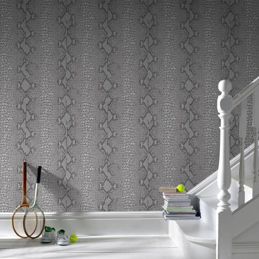 Grey Snake Wallpaper
