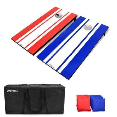4 ft. x 2 ft. Classic Cornhole Set-Includes 8 Bean Bags, Travel Case and Game Rules