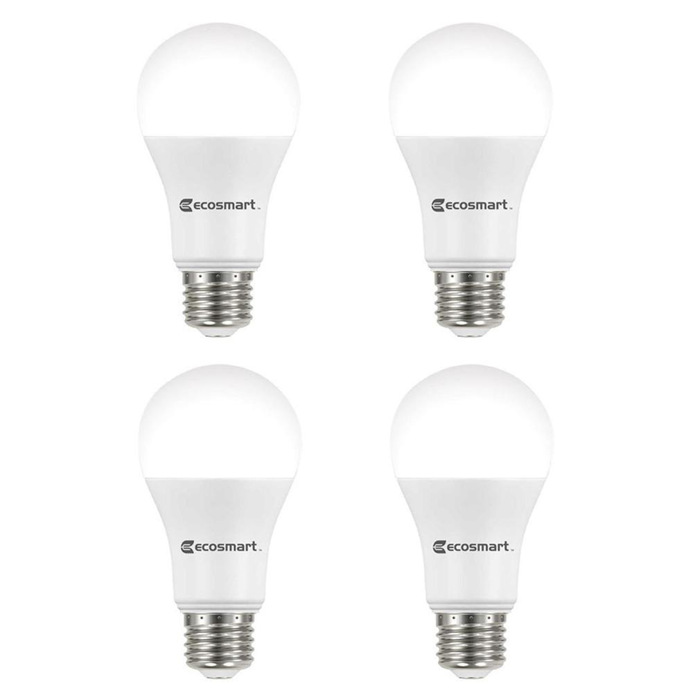 100-Watt Equivalent A19 Dimmable ENERGY STAR LED Light Bulb Soft White (4-Pack)