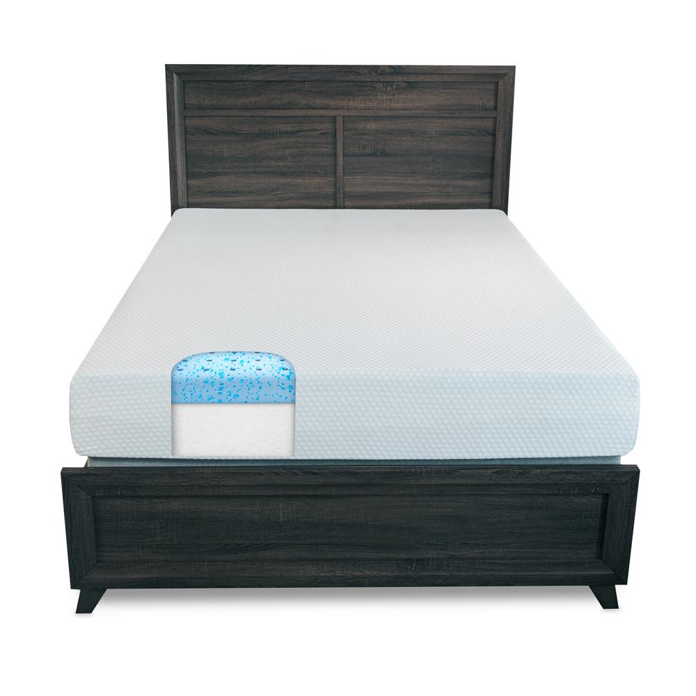 10 in. Smooth Top Twin Mattress