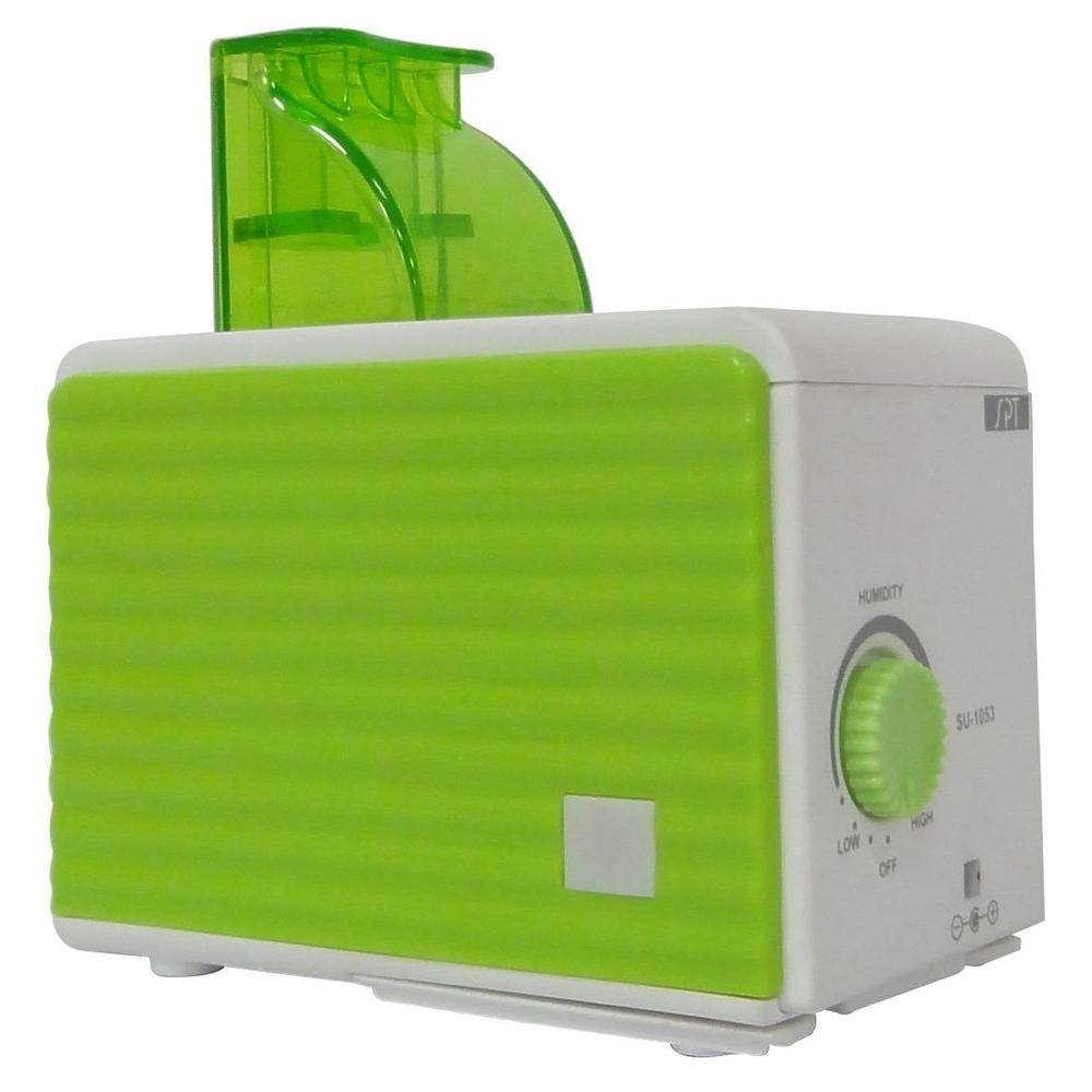 SPT Ultrasounic Cool Mist Personal Humidifier - Green and White