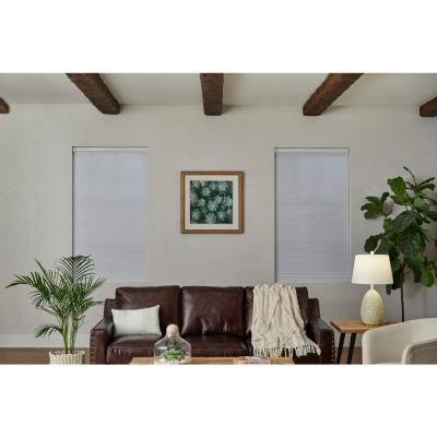 White Blackout Polyester Cellular Shade 31 in. W x 72 in. L (Motorization Compatible)