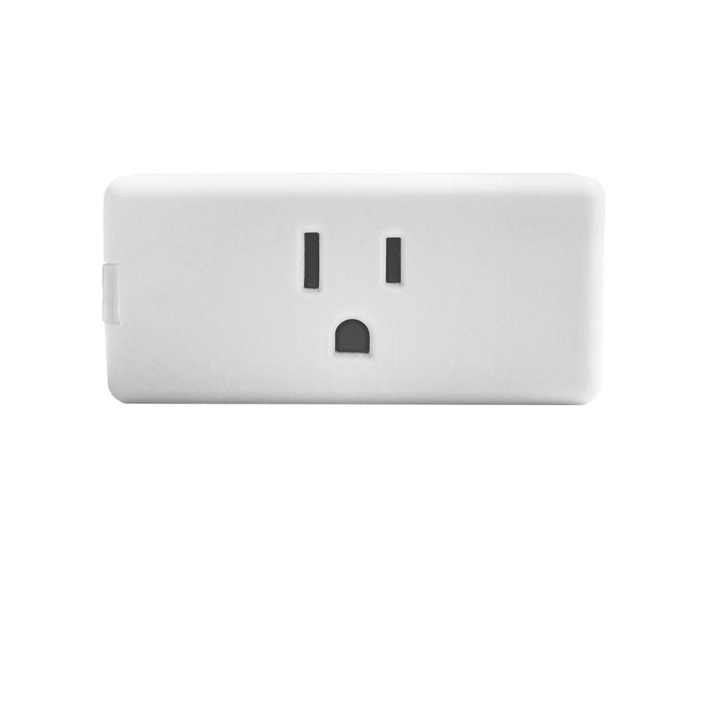 Decora Smart Wi-Fi Mini Plug-In Single Outlet, No Hub Required, Works