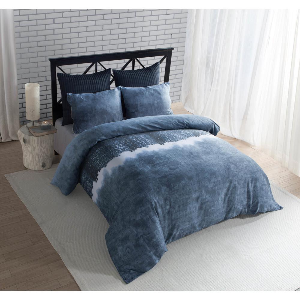 Janie Denim 100% Cotton King Duvet Set