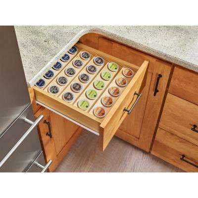 2.31 in. H x 16 in. W x 19.75 in. D K-Cup Custom Drawer Insert