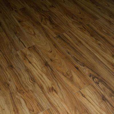 Golden Acacia Walnut 12 mm Thick x 6.7 in. W x 48 in. L, Click-Locking Laminate Flooring Plank (17.68 sq.ft./case)