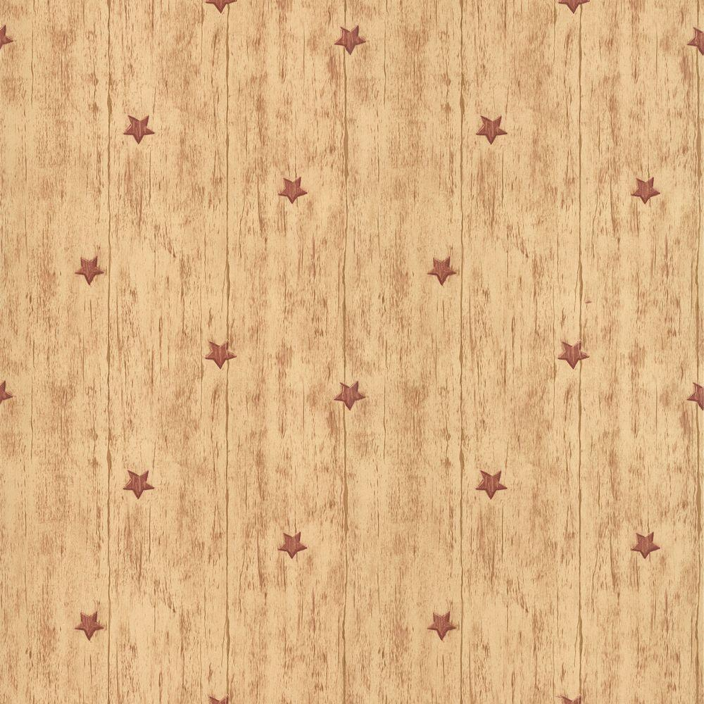Guthrie Taupe Wood Panel Wallpaper