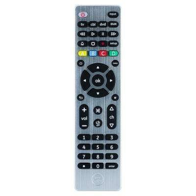 4-Device UltraPro Universal Remote, Brushed Silver