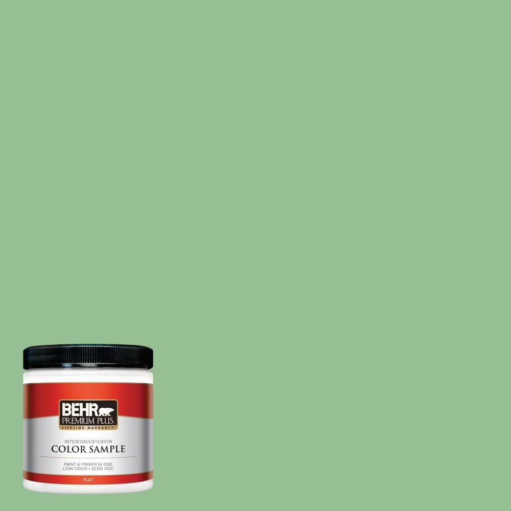 8 oz. #450D-5 Velvet Leaf Interior/Exterior Paint Sample