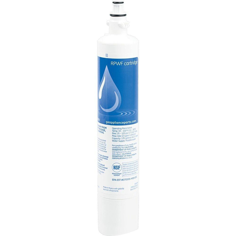 Ge Genuine Replacement Refrigerator Water Filter Rpwf