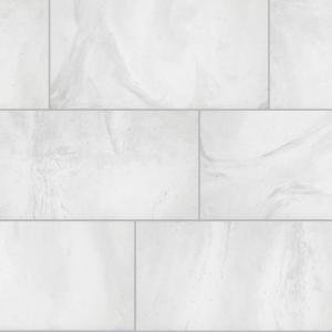 Stonewall White Rectified 12 In X 24 Porcelain Floor And Wall Tile