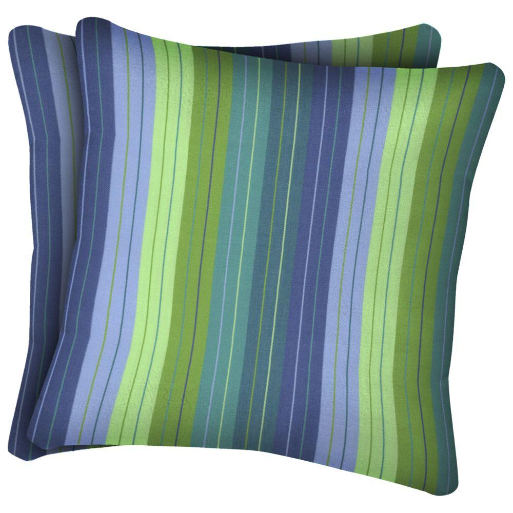 Arden Seaside Seville Outdoor Throw Pillow (2-Pack)-DISCONTINUED