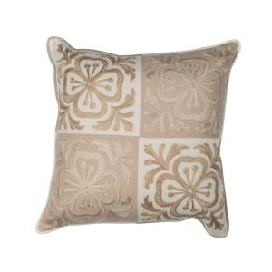 Kas Rugs Perfect Square Beige/Ivory Decorative Pillow by Kas Rugs