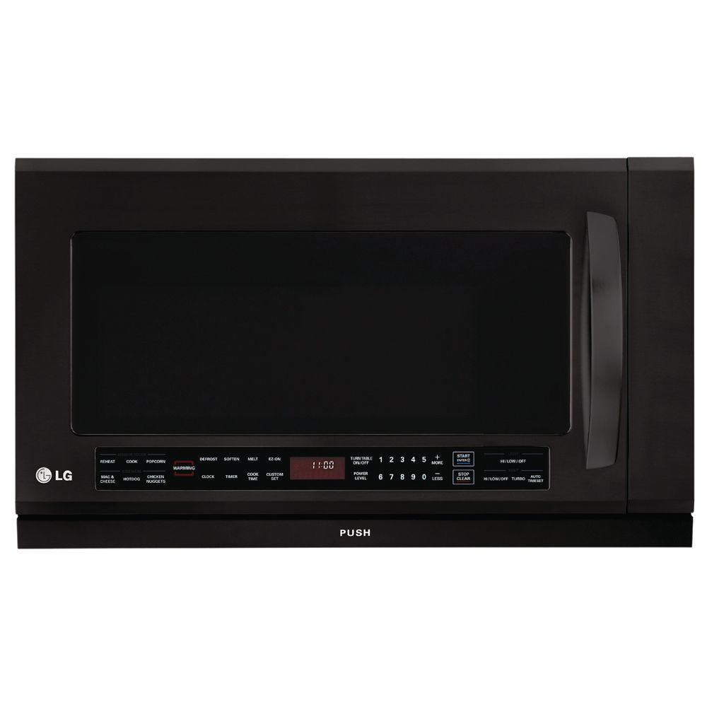 LG Electronics 2.0 cu. ft. Over-the-Range Microwave in Black