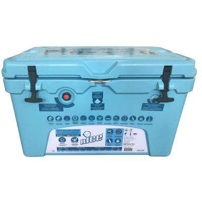 45 qt. Ice Blue Cooler