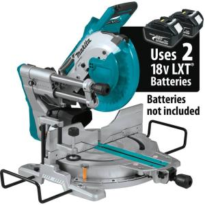 Makita 18-Volt X2 LXT Lithium-Ion (36V) Brushless Cordless 10 inch Dual-Bevel Sliding... by Makita
