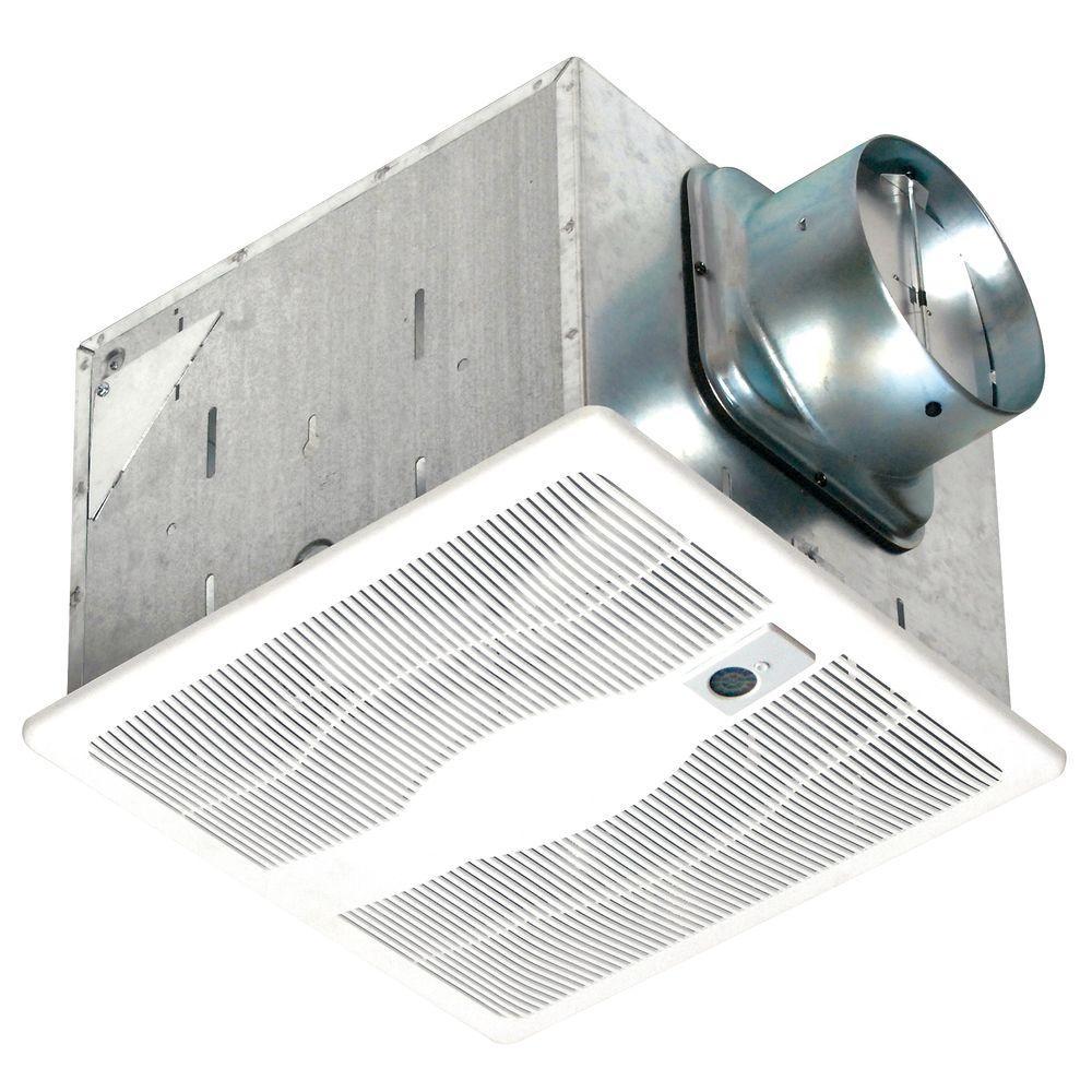 80 CFM Ceiling Single Speed Motion Sensing Bathroom Exhaust Fan