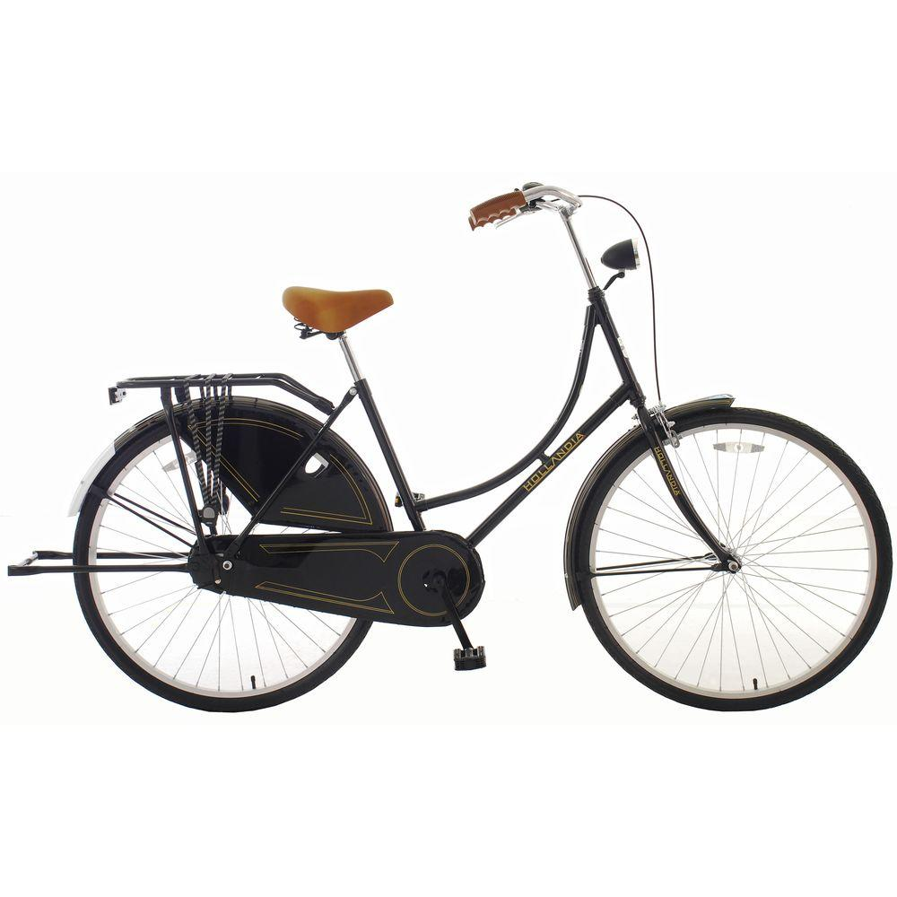 Hollandia Oma Dutch Cruiser Citi Bicycle with Chain Guard and Dress ...