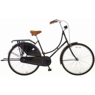 Oma Dutch Cruiser Citi Bicycle with Chain Guard and Dress Guard, 28 in. Wheels, 19 in. Frame, Women's Bike
