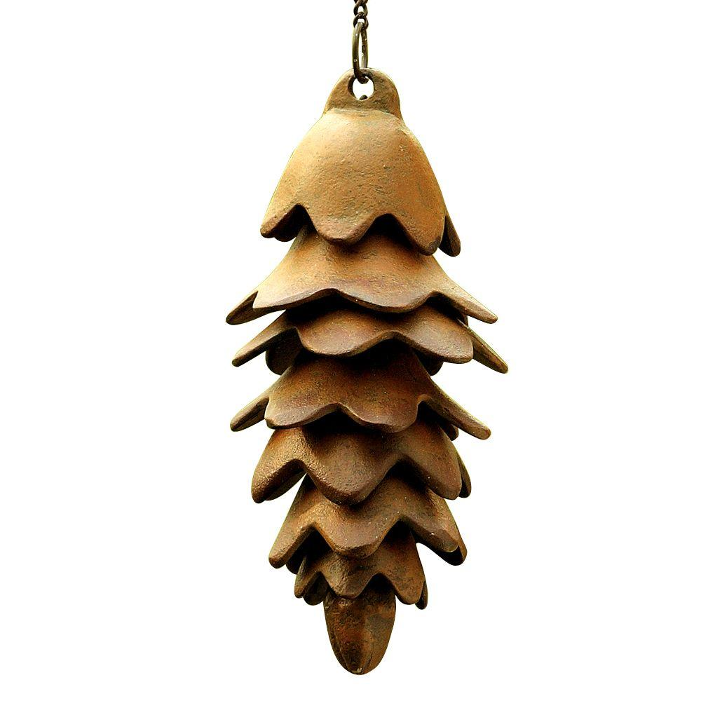SPI Large Pinecone Wind Chime