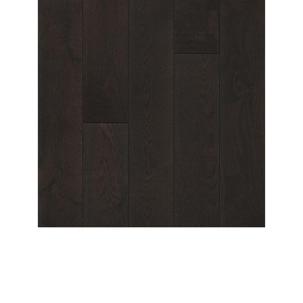 Revolutionary Rustics Take Home Sample White Oak Shadow Solid Hardwood Flooring 5 In. X 7 In.
