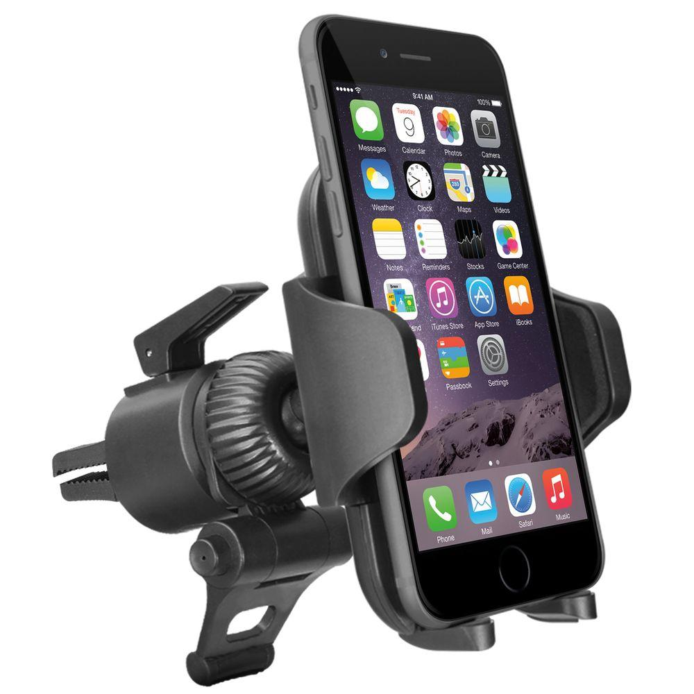 Adjustable Car Vent Mount for Smartphones and GPS