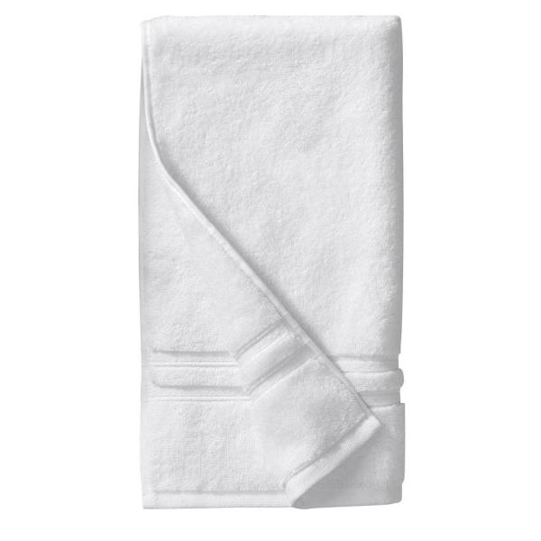 Home Decorators Collection Turkish Cotton Ultra Soft Hand Towel in White