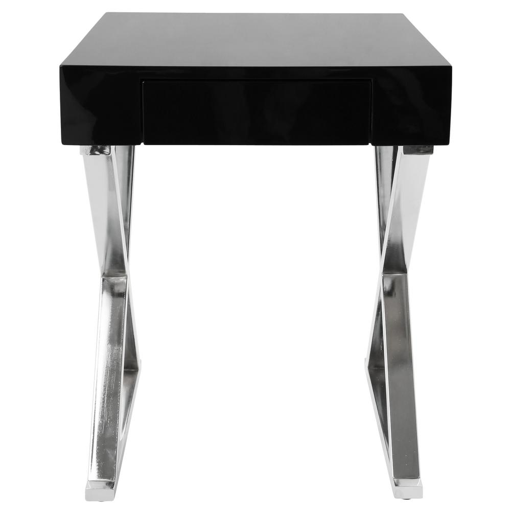 Luster Black Side Table