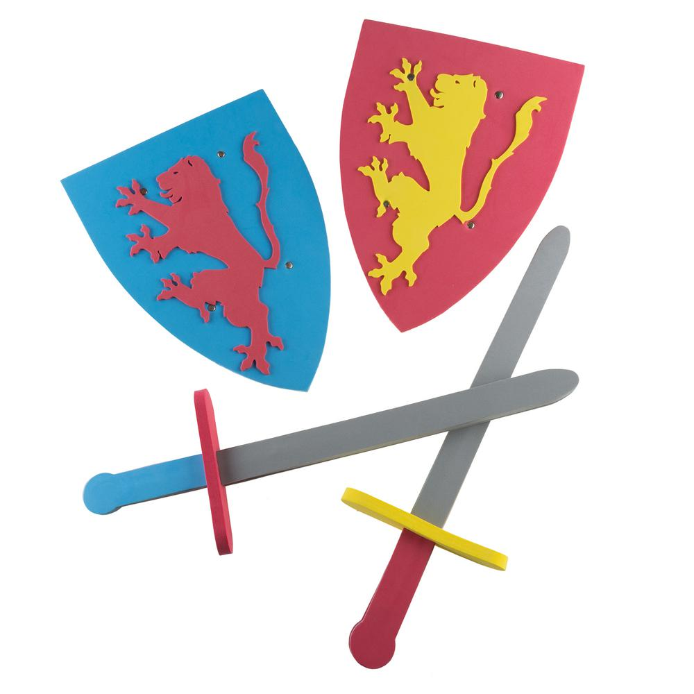 Foam Sword and Shield Pretend Playset