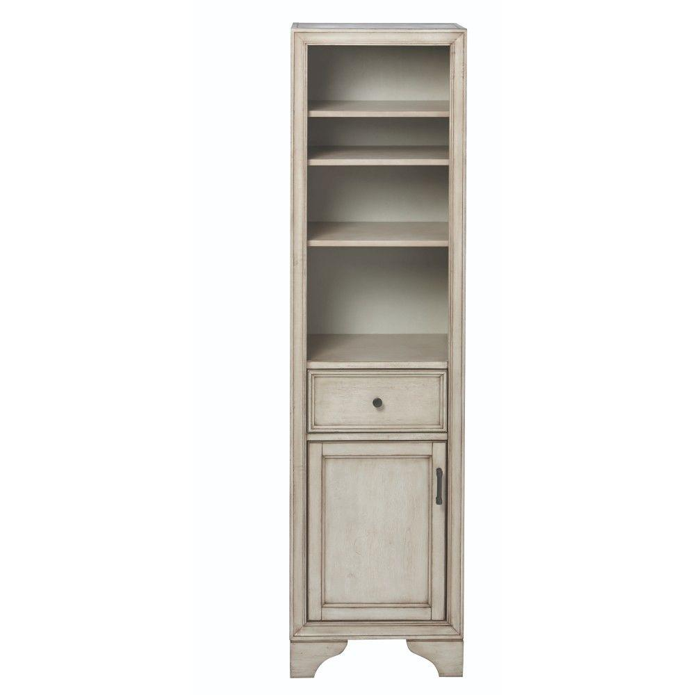 Gray - Linen Cabinets - Bathroom Cabinets & Storage - The Home Depot
