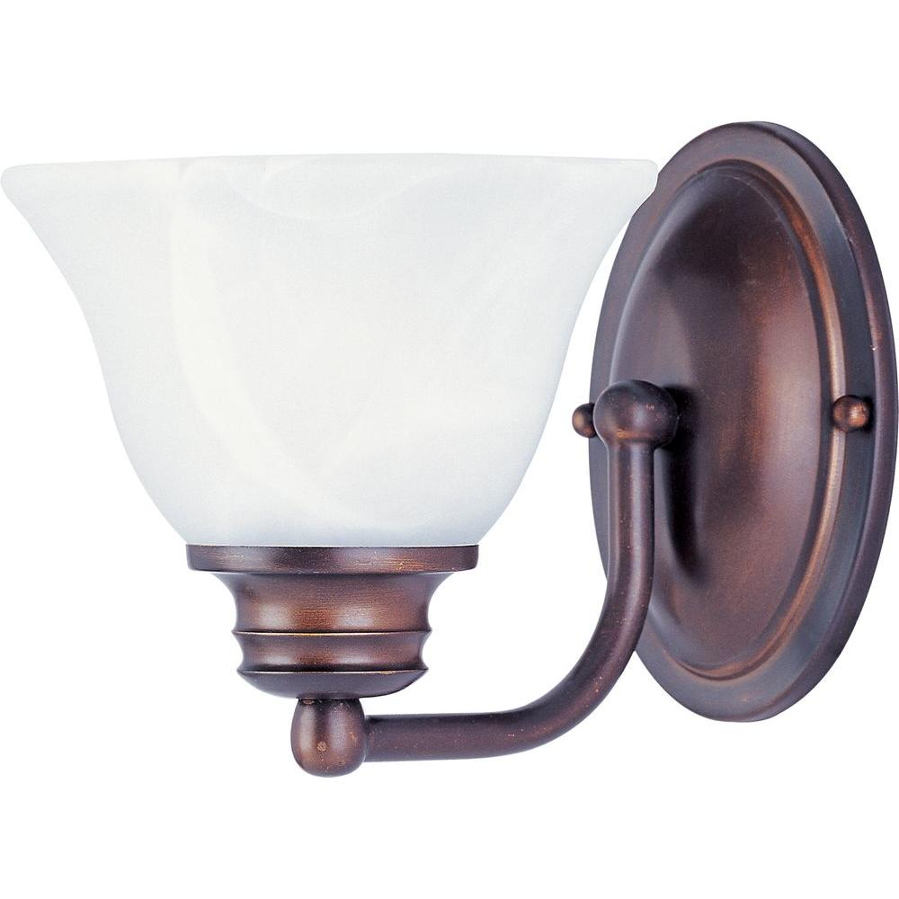 Maxim Lighting Malaga 1-Light Oil-Rubbed Bronze Sconce