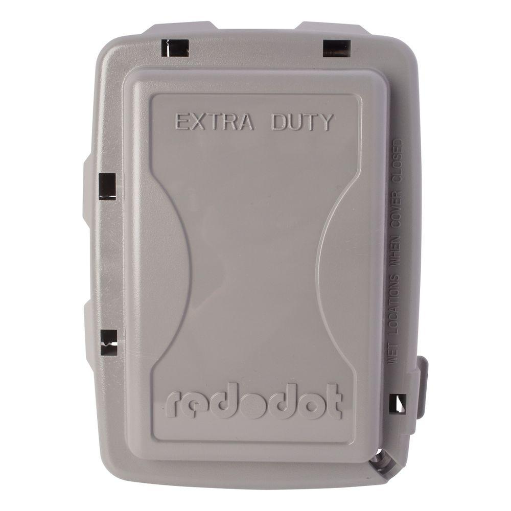 1-Gang Extra Duty Non-Metallic While-In-Use Weatherproof Horizontal/Vertical