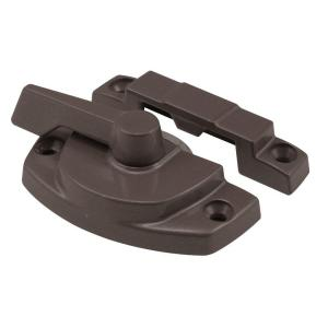 Prime-Line Entrygard Cam Lock with Bronze Non Lug Type Keeper by Prime-Line