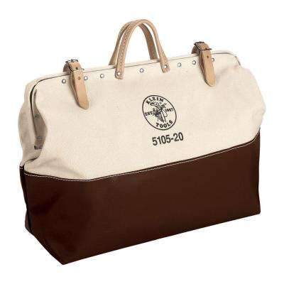 6 in.High-Bottom Canvas Tool Bag