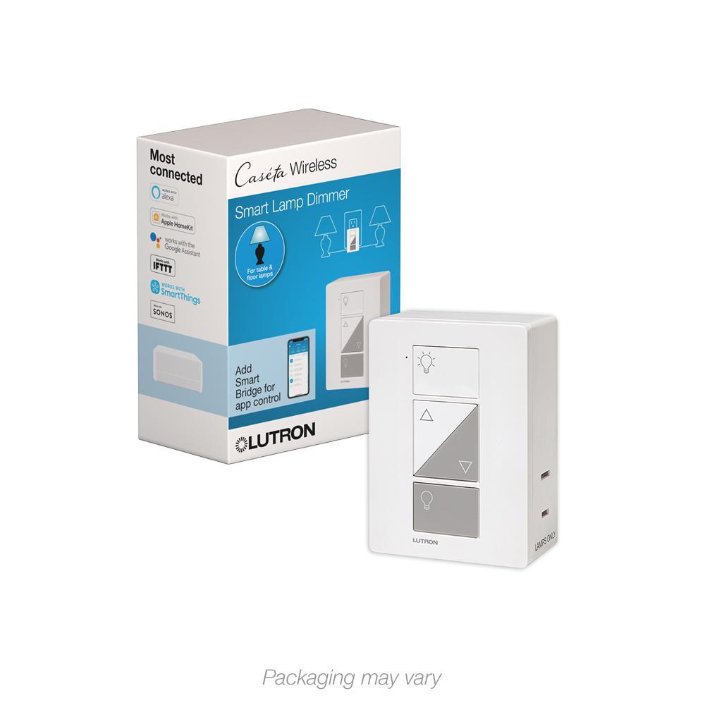 Caseta Wireless Smart Lighting Lamp Dimmer
