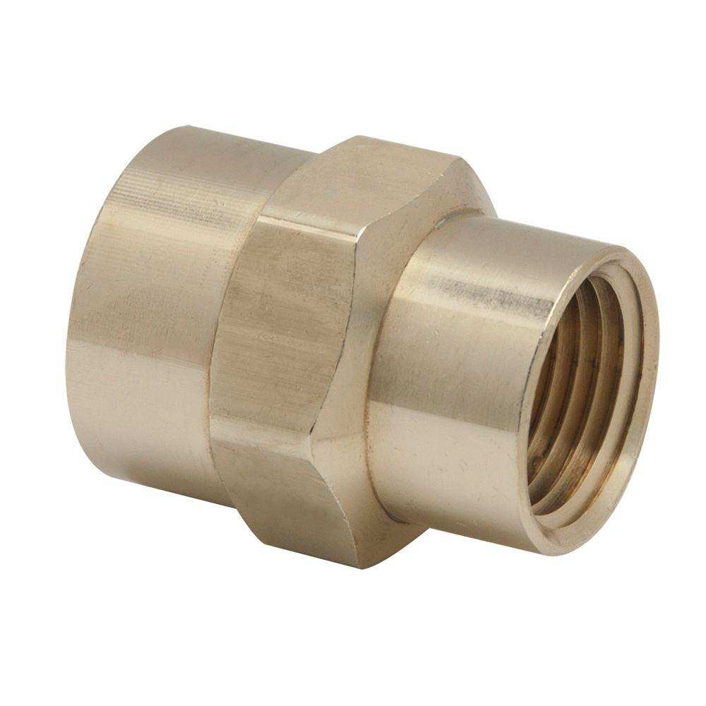5/8 in. Female Flare x 1/2 in. FIP Brass Gas Fitting