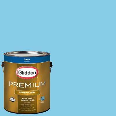 1 gal. #BB-134A Tampa Bay Rays Light Blue Satin Exterior Paint