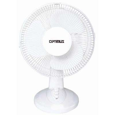 12 in. Oscillating Table Fan