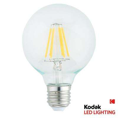 50W Equivalent Warm White G95 Globe Dimmable LED Light Bulb