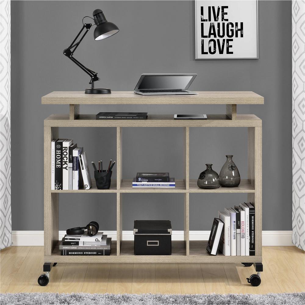 Altra Furniture Lincoln Sonoma Oak Standing Desk