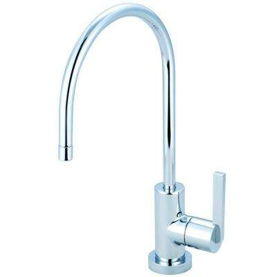 Replacement Drinking Water Single-Handle Beverage Faucet in Chrome for Filtration Systems