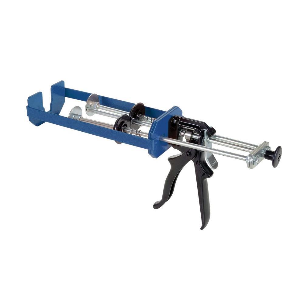 COX 300 ml x 300 ml/300 ml x 150 ml/300 ml x 75 ml Dual Cartridge Extra Thrust Epoxy Applicator Gun